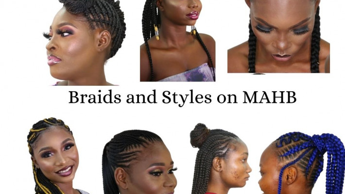 Braids and Styles On MAHB- Trendy Cornrow styles with Photos, Price and Duration