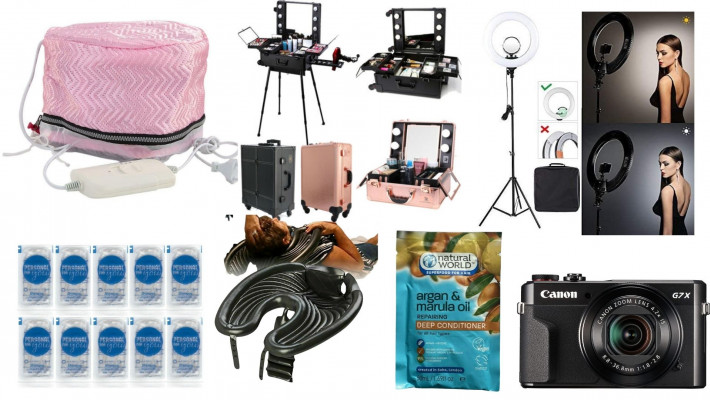 MOBILE HAIRDRESSERS MUST HAVE  MOBILE HAIRDRESSING PRODUCTS, TOOLS AND EQUIPMENT/LINKS